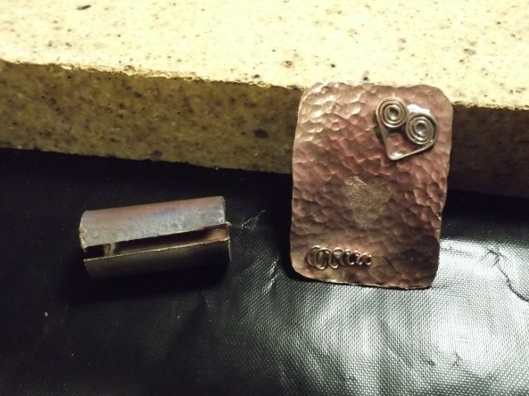 My copper first experiment